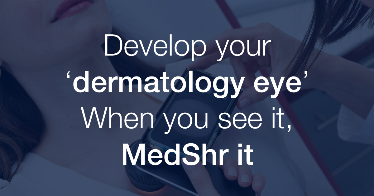 dermatology eye phrase to make accurate diagnosis on patients